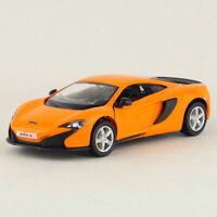McLaren 650s 1:36 Scale Model Car Alloy Diecast Gift Toy Vehicle Kids Orange
