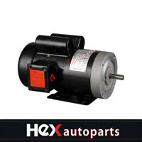New Electric Motor 56C Single Phase TEFC 115/230 Volt 3450 RPM,2 HP