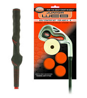 Go Junior Web Golf Starter Iron with Training Grip and Foam Balls