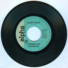 Philippines FRIENDS AND NEIGHBORS Kulay Rosas OPM 45 rpm Record