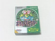 GAMEBOY NINTENDO Pokemon Green Japan Used JP Pocket Monsters GB Game Boy