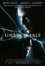 Unbreakable Movie Poster (2000) Bruce Willis - New - 11x17 13x19 - Usa
