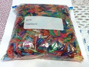Huge Lot of Lite Brite Pegs  5 Pounds Various Shapes and Sizes