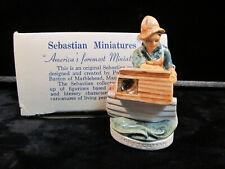 Sebastian Miniatures 6201 Lobsterman New In Box