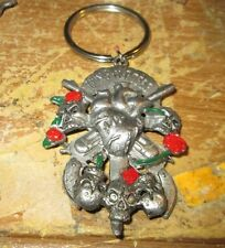 GUNS N ROSES KEY CHAIN VINTAGE METAL  NEW FROM LATE 90'S