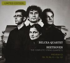 BEETHOVEN: THE COMPLETE STRING QUARTETS - PREVIEW CD [LIMITED EDITION] USED - VE