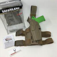 Safariland 6384 ALS OMV Open Top Tactical LH Leg Holster GLOCK 19 23 LEFT HAND