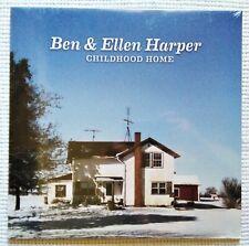 "BEN & ELLEN HARPER - "" CHILDHOOD HOME "" VINYL LP + DOWNLOAD 2014 EU SEALED"