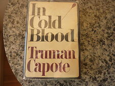 In Cold Blood by Truman Capote. First edition in dust jacket. 1965