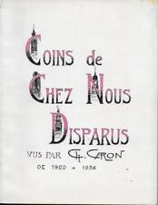 REGIONALISME PICARDIE - AMIENS / COINS DE CHEZ NOUS DISPARUS DE 1920 A 1936