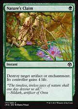 MRM ENGLISH FOIL Revendication par la nature (Nature's Claim) MTG magic IMA