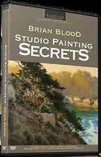 Brian Blood: Studio Painting Secrets - Art Instruction DVD