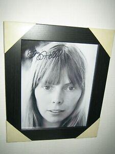 Joni Mitchell - Gorgeous Signed Photo {8x10}  Framed + CoA