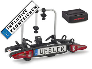 Uebler Support D 'em Brayage i21 60 Degré 15900 2 Vélos Pliable + Sac + Kennzei