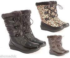 "Ella shoes ""Aspen"" faux fur snow warm winter boot all UK sizes 3-8."