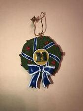 Duke University Blue Devils Mascot Wreath Ornament New Limited Edition