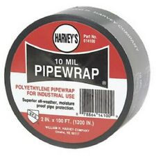 Harvey 14100 Poly Pipe Wrap 2-Inch by 100-foot Black