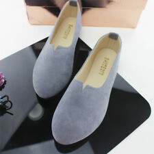 Women's Shoes Suede Ballet Flats Casual Ladies Sapatos Loafers Zapatos Mujer