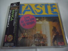 TASTE-Live At The Isle Of Wight JAPAN 1st.Press w/OBI Rory Gallagher Thin Lizzy