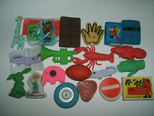 Vintage 1980s Collection of erasers rubbers gommes - Lot 35