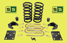 """1997 - 2003 Ford F-150 F150 V8 2WD 3"""" / 6"""" Drop Lowering Kit Coils 1211AC"""