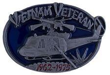 Vietnam Veteran Belt Buckle - 3D Colored Enamel Belt Buckle - BRAND NEW!