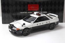 1:18 Kyosho Nissan Skyline GT-R R32 Shizuoka Police 421 NEW bei PREMIUM-MODELCAR