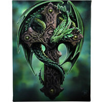 Fantasy Gothic Art Canvas Wall Plaque~Woodland Guardian~by Anne Stokes~26~uk