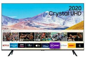 "SAMSUNG UE55TU8000KXXU 55"" 2020 Crystal UHD 4K HDR Smart TV Netflix Prime"