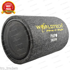 WORLDTECH 3800W PMPO WT-BT1400 Car Bass Tube With 10 Inch SubWoofer Amplifier