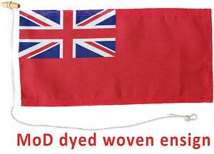 Red ensign MoD approved flag dye sublimation printed marine grade 1/2 half yard