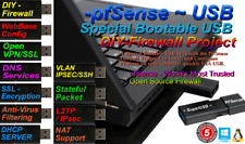 pfSense Firewall Appliance Software -16gb Bootable USB - Installs and Configures