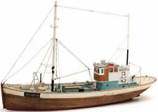 HO Roco Artitec Resin Ship Kit Unassembled Unpainted #50.107 Fishing Boat