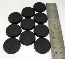 10 socles ronds plastiques / plastic round bases 32mm