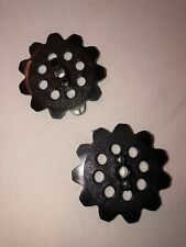 2 Micro K'nex Sprocket Gears Replacement Parts Pieces Euc Free Shipping