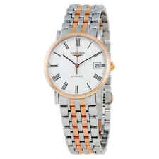 Longines Elegant Automatic White Dial Ladies Watch L4.809.5.11.7