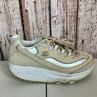 SKECHERS Shape Up Toners SN 11800 White/Cream Leather Women's Shoe Size: 8