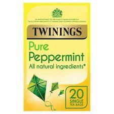 3x TWININGS Pure Peppermint Herbal Tea x 20 enveloped bags each
