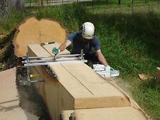 "Genuine Granberg Alaskan Mk III 36"" chainsaw mill lumber boards milling."