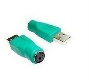 USB Male to PS/2 Mouse Converter Connector Adapter
