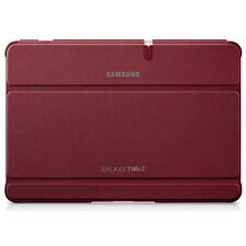NEW GENUINE SAMSUNG GALAXY TAB 2 10.1 INCH BOOK COVER CASE IN RED EFC-1H8SRECSTD