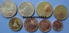 Slowenien KMS 8 Euromünzen 2011 mit 1 Cent bis 2 Euro Slovenia Euro Münzen coins