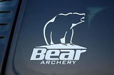 Bear Archery Vinyl Sticker Decal (V181) Bow Hunting Hunt Hunter Truck Car Window