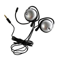 Genuine Sony PSP-S270G Clip On Ear Hook Stereo Headphones with Microphone Boom