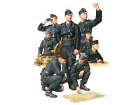 Tamiya 35354 Military Miniatures German Wehrmacht Tank Crew Set Kit 1/35 Scale