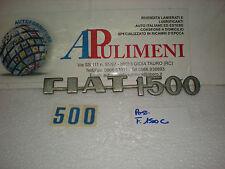 FREGIO-LOGO-SIGLA-SCRITTA (BADGE) POSTERIORE FIAT 1500 C