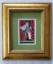 PABLO PICASSO ORIGINAL 1956 BEAUTIFUL SIGNED PRINT MATTED 8 X 10 + RESALE  $750