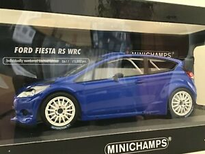 1/18 Ford Fiesta RS WRC Blue Road Version