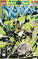 The X-Men Comic Issue 15 Annual Modern Age First Print 1991 Fabian Nicieza Raney