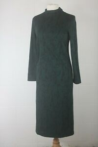 WBR21 Mint Velvet Green Jersey Midi Dress Size 12